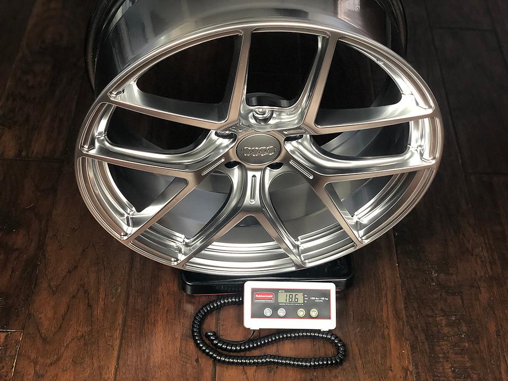 hyper silver wheel for Audi s6