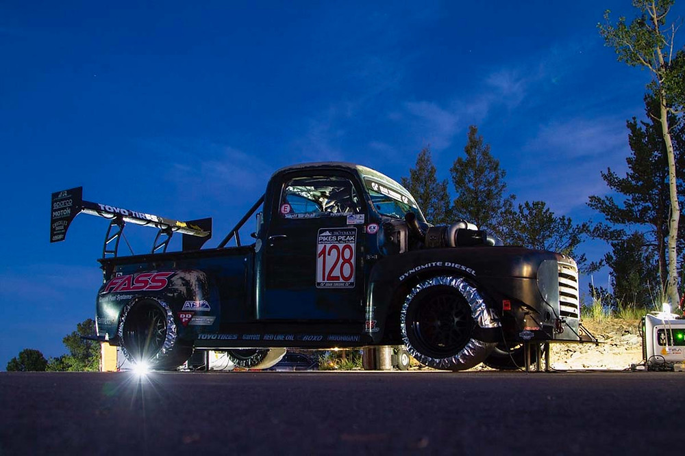 race truck Old Smokey F1 at Pikes Peak