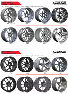 catalog of Litespeed Racing lightweight wheels
