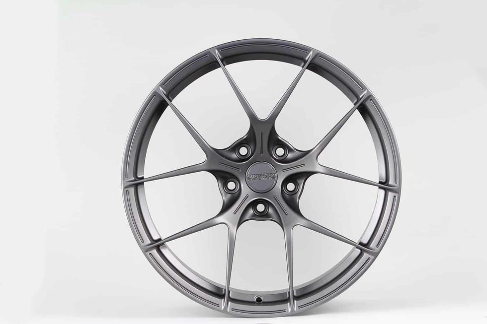 RS5RR front semi gloss gunmetal