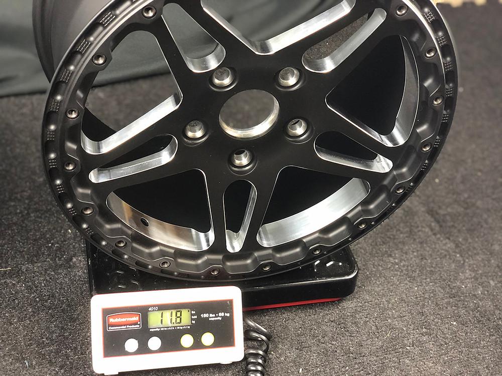 drag race wheel weight