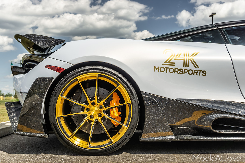 Mansory 720s with carbon fiber wheels by Litespeed racing