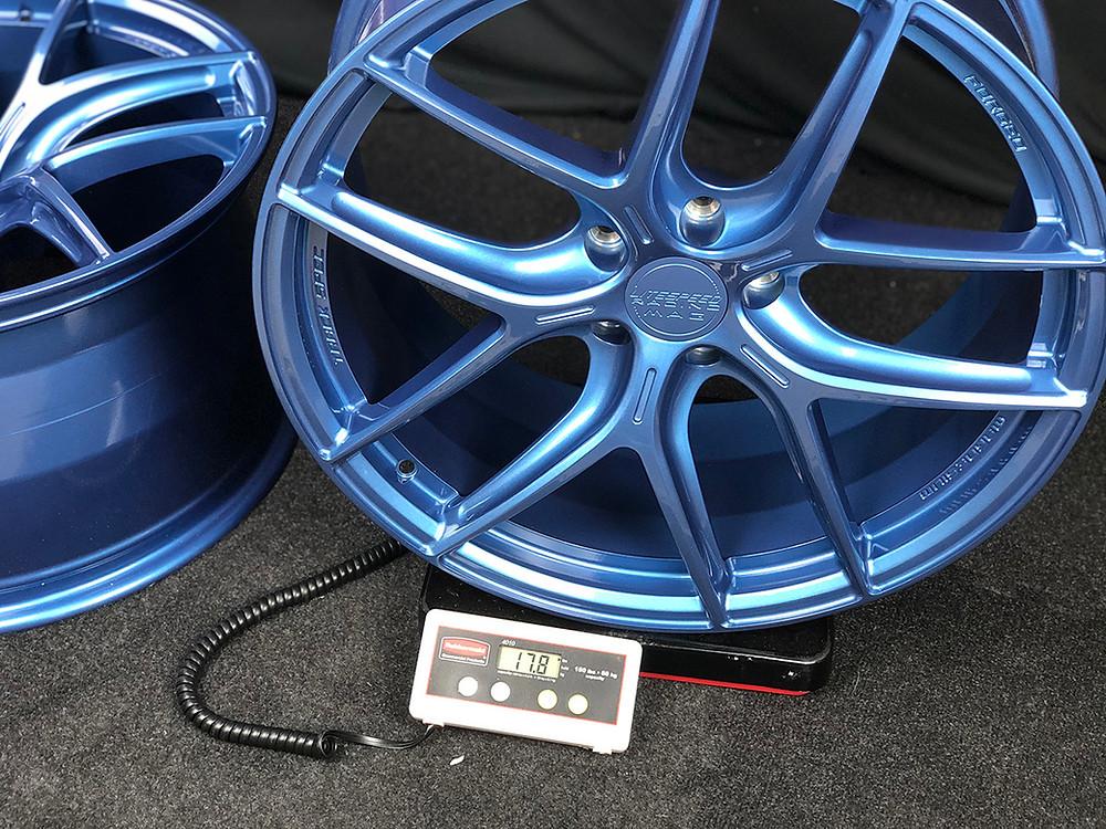 lightest Ferrari wheel