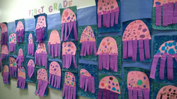 1st grade Jellyfish!