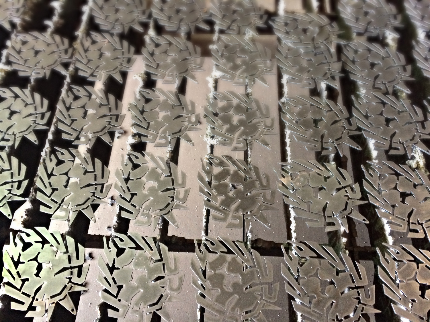 detailed laser cutting
