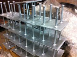 Galvanized Embed Plates