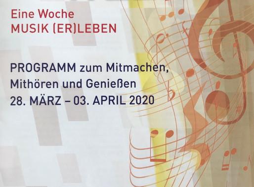 Klangweltenwoche der Musikschule Greven