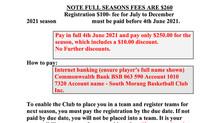 Season Fees