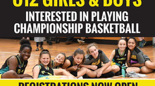 Under 12 Girls & Boys Pacers Tryouts