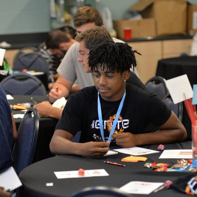 P4B Ignite Conf Students at Tables.jpg