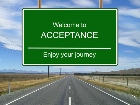 Acceptance: Learning to let go