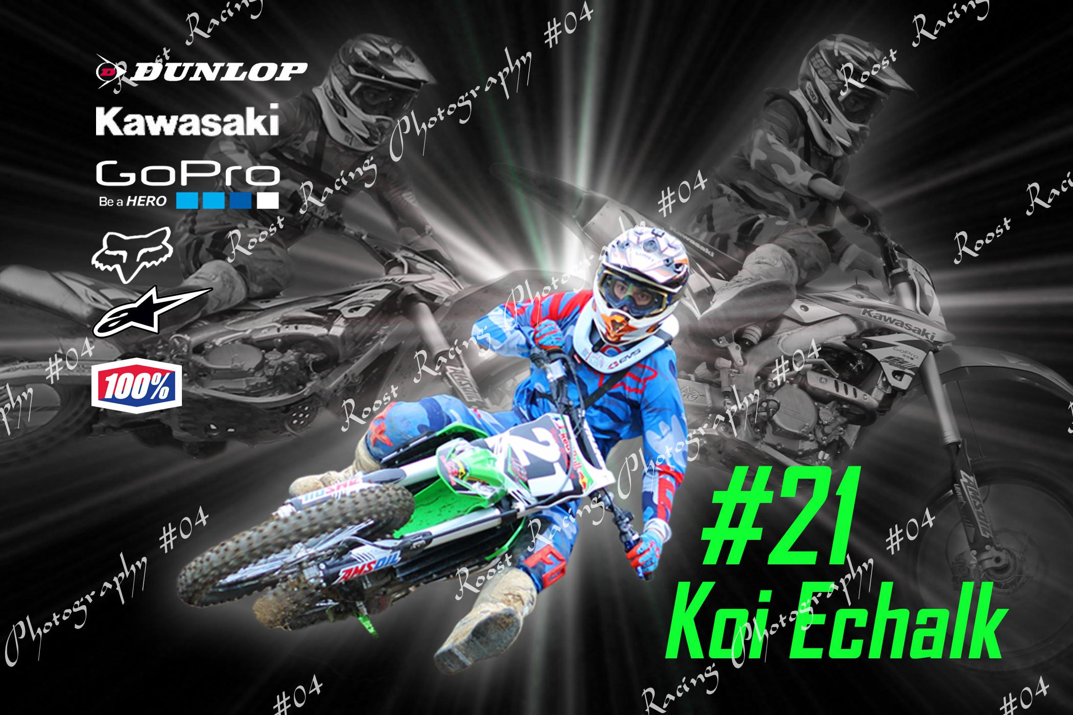 #21 Koi Echalk