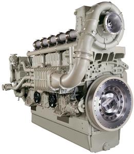 GE L250 diesel commercial marine engine