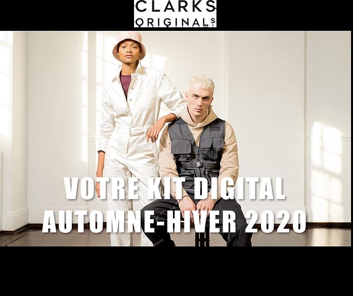 Banniere Digital Kit Clarks Originals 1.
