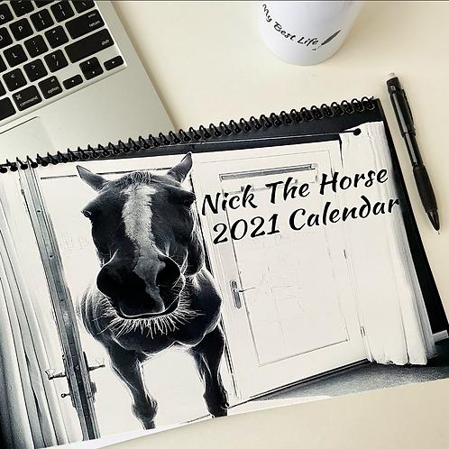 #NickTheHorse Calendar