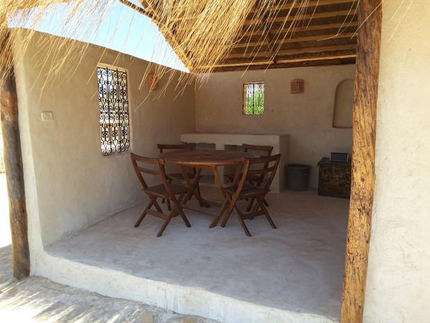 Belvedere Exterior Hut