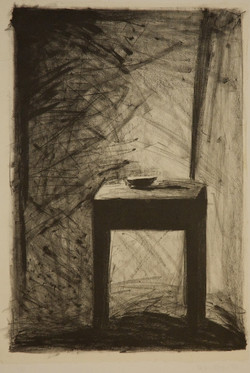 The Table 1986 lithograph