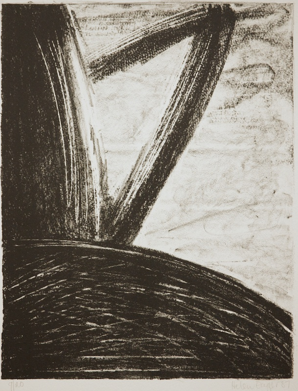Handle 1987 lithograph