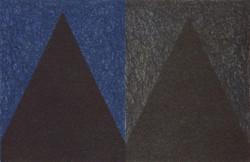 Precipice #2 2001 lithograph