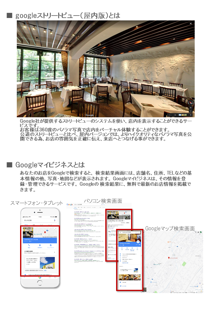 Googleストリートビュー導入事例③