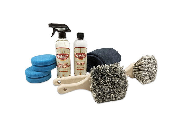 Golden Shine Wheel and Tire Cleaning Kit 44927