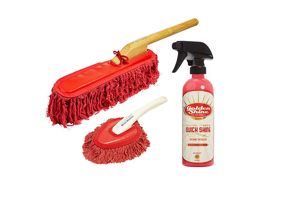 Classic Car Duster Combo with Golden Shine Quick Shine 10969