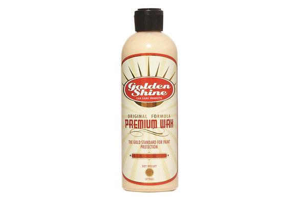 Golden Shine Premium Wax Liquid Carnauba 16oz Bottle