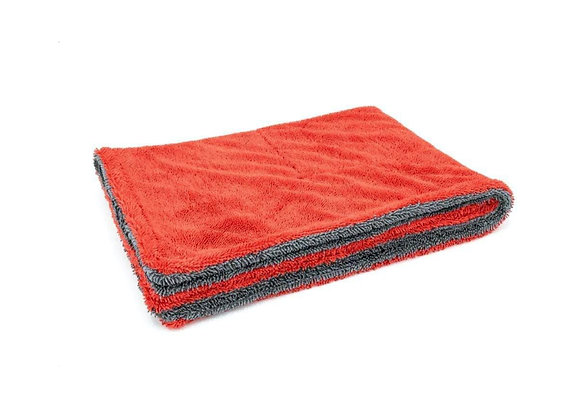 "1100 gsm Absorbent Double Twist Microfiber Drying Towel 20"" X 30"""