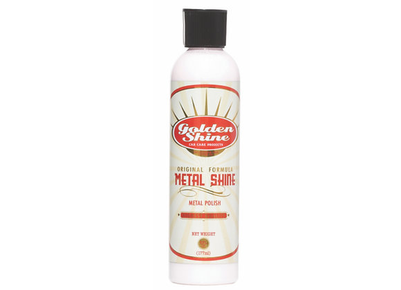 Golden Shine Metal Shine Fine Grade Metal Polish 8oz Bottle