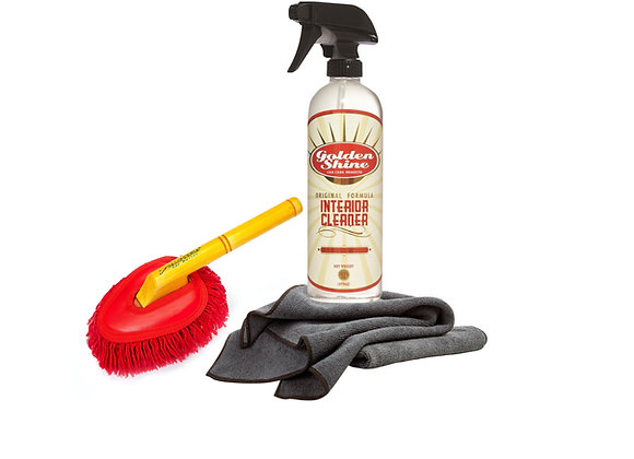 Interior Detailing Kit with Mini Duster and Interior Cleaner 41955