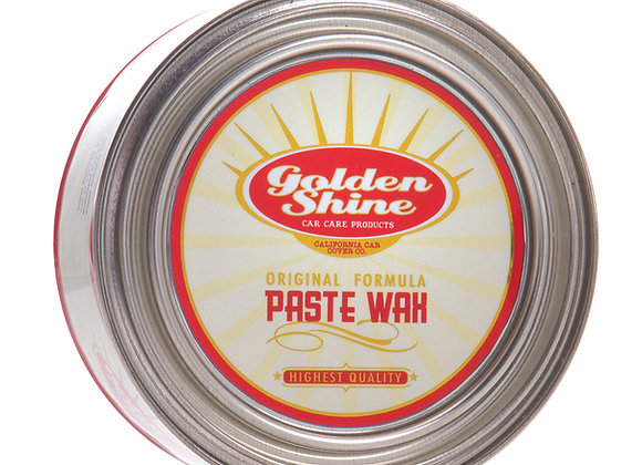 Golden Shine Carnauba Paste Wax 7oz Can