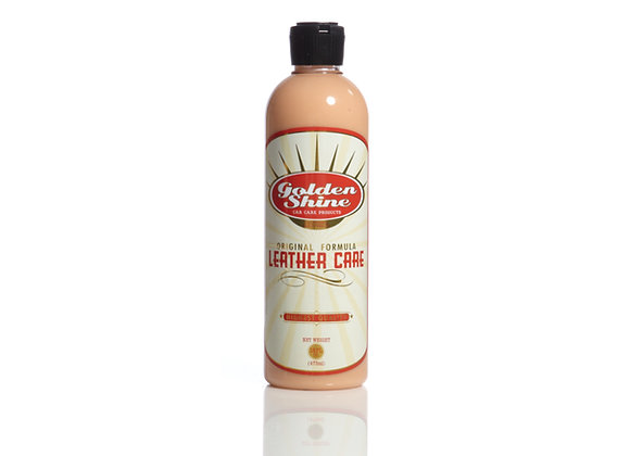 Golden Shine Leather Care and Conditioner 16oz Liquid