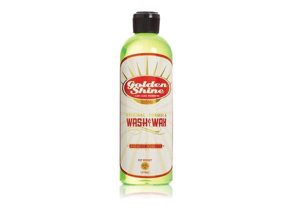 Golden Shine Wash and Wax Car Soap