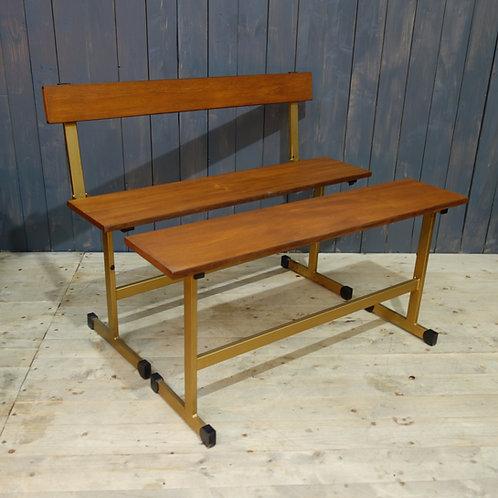 bench, teak, shipping worldwide, vintage, japan, america, europe, vintage bench, interior design, mid century look, dining