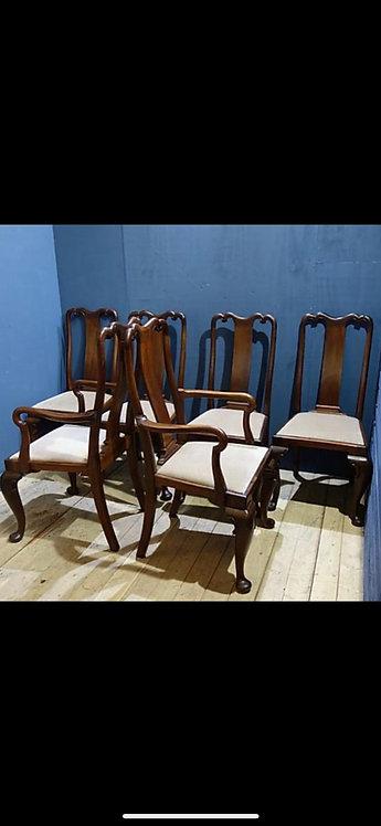 1900 Original Waring Dining Chairs set of 6