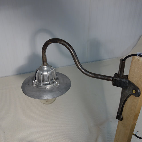 Industrial, vintage, lamp, wall mounted, swan neck, interior design, 1950s