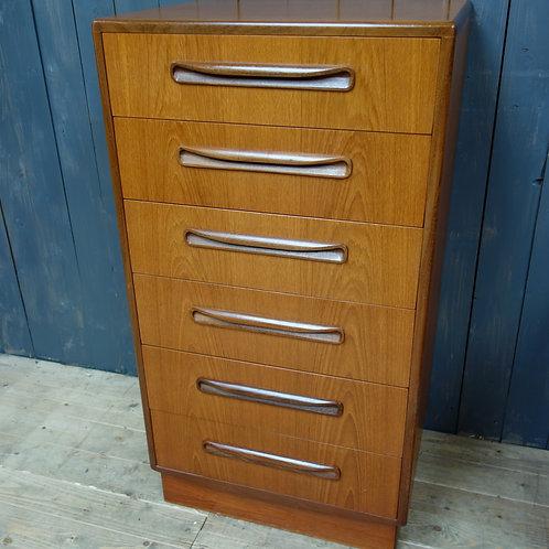 gplan, vintage, vintage gplan, vintage chest of drawers, mid century, mid century chest of drawers, danish furniture, teak,
