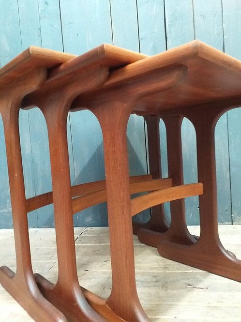 Mid Century Gplan Fresco Nest of Tables