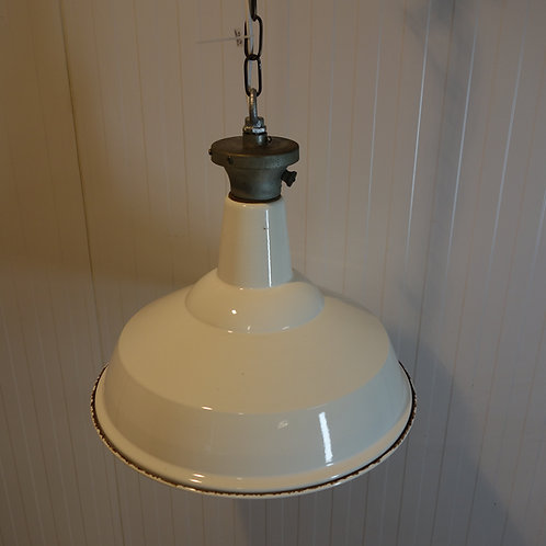 1940's Benjamin Enamel Factory Lights