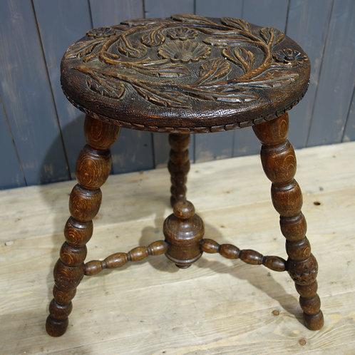 Victorian, bobbin, bobbin stool, antique furniture, new stock, bobbin stool furniture, room decor, interior designer, oak,