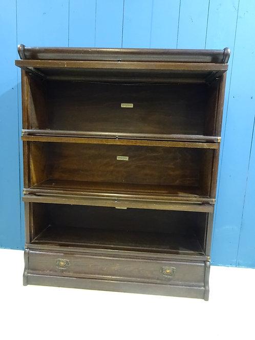 oak, oak furniture, patina, globe, globe wernicke barristers bookcase,