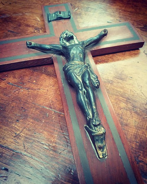 Antique French Crucifix