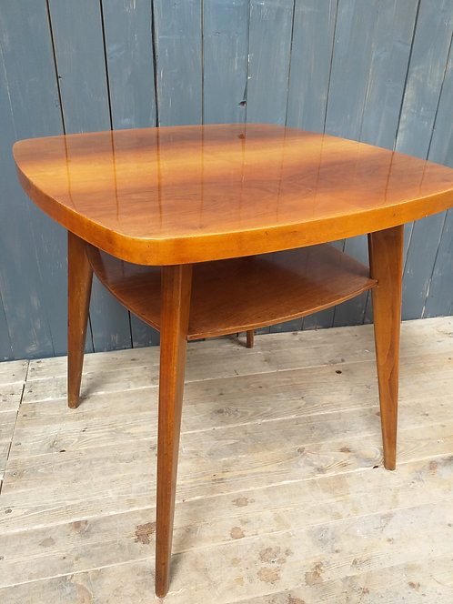 1960's Square Coffee Table by Tatra