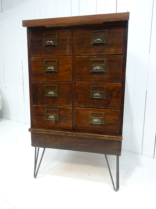#bankerscabinet, drawers, oak chest, interior designer items, storage for home, work from home, office, oak, drawers, cup