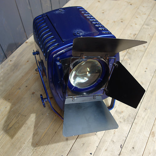 strand lighting, stage light, lights, cosworth, blue, light, metal, theatre light, retail prop, film prop, home lighting, etc