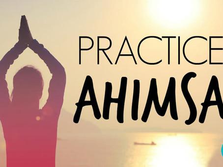 Yama #1 - Ahimsa - Kindness (nonviolence)