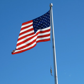 US Flag on Memorial Day