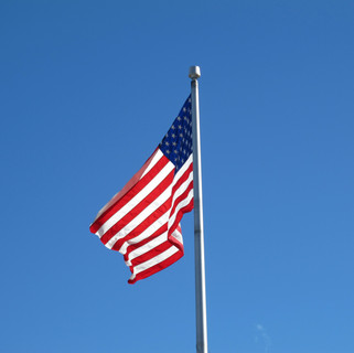 Old Glory at US Post Office