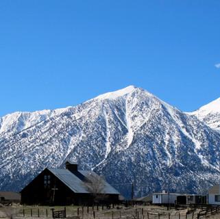 Jobs Peak with Carson Valley Barn