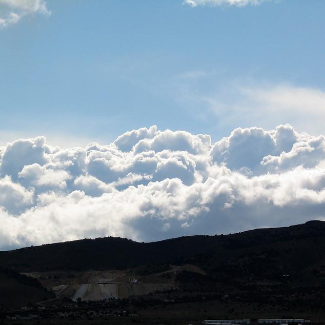 Storm front over Virginia Range